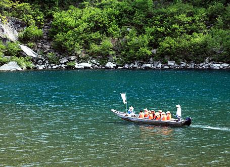 熊野川川下り